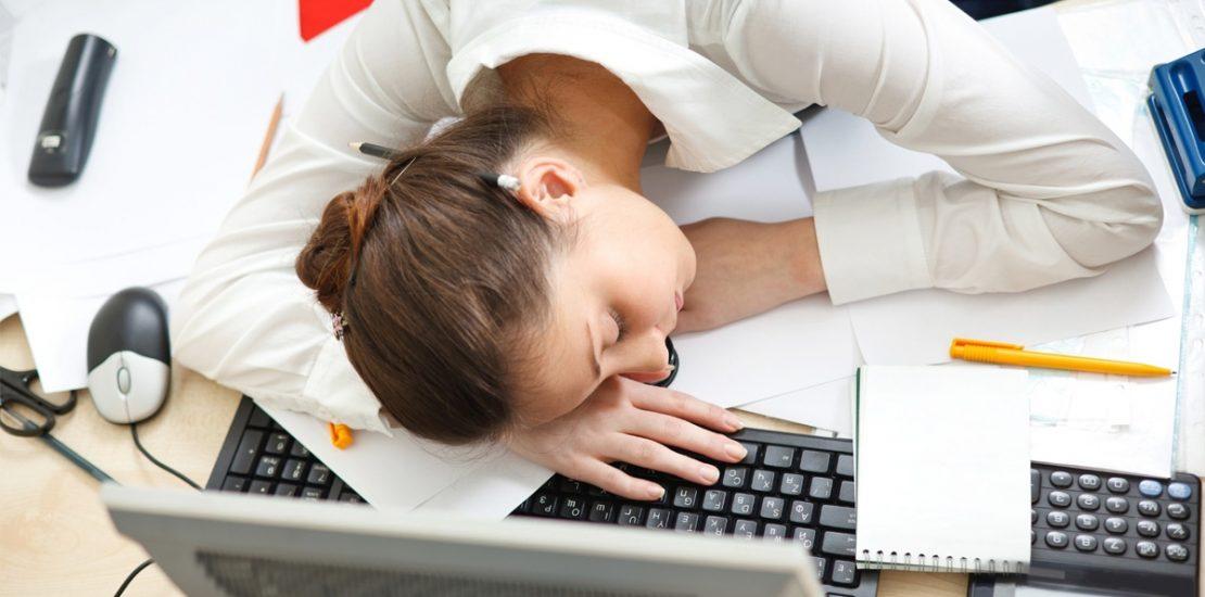 Falta de concentração no trabalho - O cansaço - Mérito Contábil