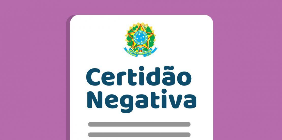 Certidão negativa de débito - Mérito Contábil
