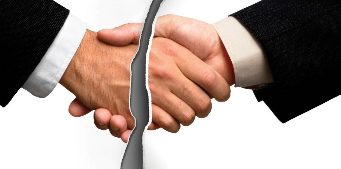 Rescisão de contrato - Mérito Contábil