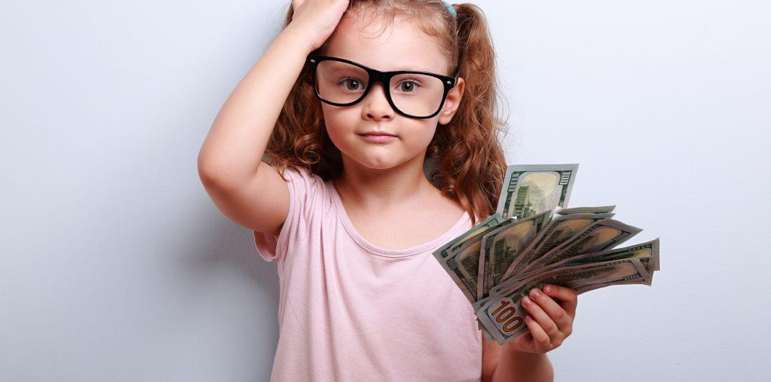 Conta bancária para crianças - Mérito Contábil